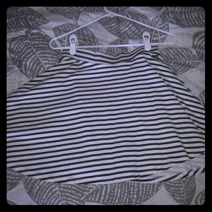 Victoria secret striped skirt